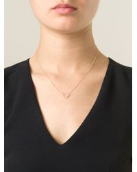 By Boe | Metallic Heart Necklace | Lyst