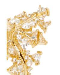 Fernando Jorge - Metallic Gold, Diamonds And Topaz Fusion Cross Ring - Lyst