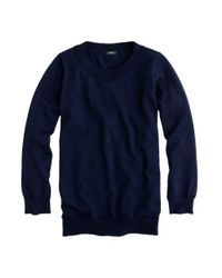 J.Crew - Blue Merino Wool Tippi Sweater - Lyst