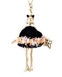Servane Gaxotte | Metallic Doll Pendant Necklace | Lyst