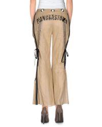 Pianurastudio - Natural Casual Trouser - Lyst