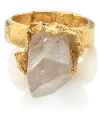 Alighieri | Metallic Gold Floating Sparks Ring | Lyst