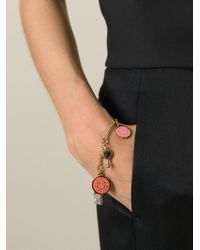 Marc By Marc Jacobs | Metallic Charm Bracelet | Lyst
