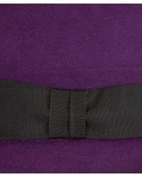 Christys' - Purple Tyler Trilby Hat - Lyst
