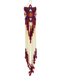 Jacquie Aiche - Red + Bead And Porcupine Earrings - Lyst