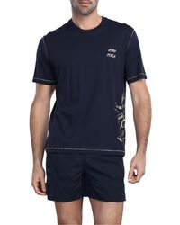 La Perla | Blue T-shirt for Men | Lyst