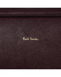 Paul Smith - Metallic Damson 'city Embossed' Leather Business Folio for Men - Lyst
