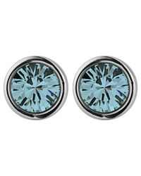 Dyrberg/Kern - Blue Dyrberg/kern Noble Earpost Earrings - Lyst