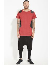 Forever 21 - Red Unknown Ripstop Tee You've Been Added To The Waitlist for Men - Lyst