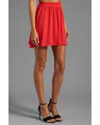 Donna Mizani   Circlet Skirt in Red   Lyst