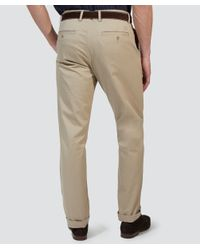 Gant - Natural New Haven Chinos for Men - Lyst