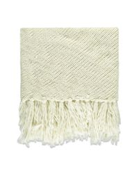 Forever 21 | Natural Fringe Marled Triangle Scarf | Lyst