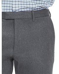 Banana Republic | Gray Skinny Corded Twill Dress Pant | Lyst
