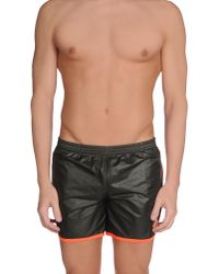 Robinson Les Bains - Green Swimming Trunk for Men - Lyst