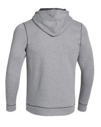 Under Armour | Gray Rival Full-zip Hoodie for Men | Lyst