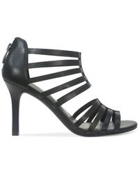 Tahari | Black Canton Dress Sandals | Lyst