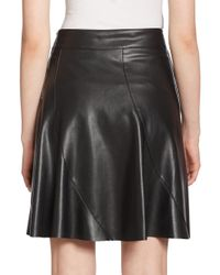 Bailey 44 - Black Sedgwick Faux Leather Skirt - Lyst