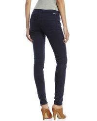 Mother - Blue Looker Skinny Jeans - Lyst