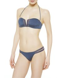 La Perla   Blue Low-rise Bikini Briefs   Lyst