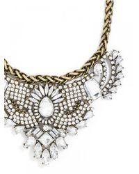 BaubleBar | Metallic Crystal Karenina Bib | Lyst