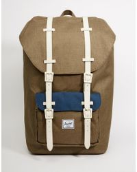 Herschel Supply Co. | Green Little America Backpack 23l for Men | Lyst