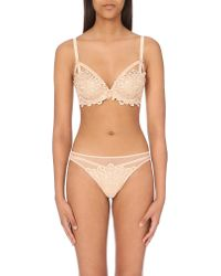 Dita Von Teese | Natural Black Dahlia Lace Balcony Bra - For Women | Lyst
