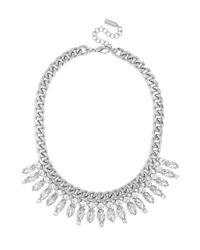 BaubleBar - Metallic Crystal Ray Collar - Lyst