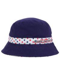 1317eab95 Lyst - KTZ Kids' Columbus Blue Jackets Reversible Bucket Hat in Blue ...