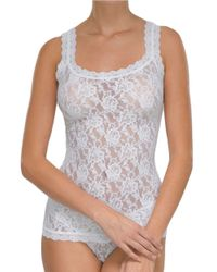 Hanky Panky | Blue Signature Lace Unlined Camisole | Lyst
