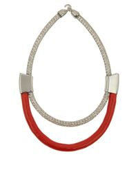 Orly Genger By Jaclyn Mayer | Red Marlowe Necklace | Lyst
