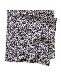 Brooks Brothers | Blue Hibiscus Pocket Square for Men | Lyst