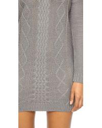 BB Dakota | Gray Jack By Scout Sweater Dress | Lyst