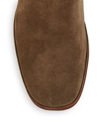 Belle By Sigerson Morrison | Brown Who Slouchy Suede Boots | Lyst