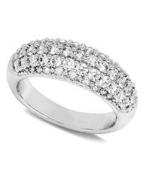 Swarovski | Maeva White Ring | Lyst