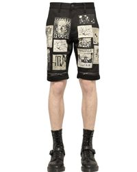Haculla | Black Distressed Denim Bermuda Shorts for Men | Lyst