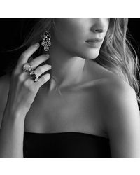 David Yurman - Metallic Albion Ring With Diamonds, 14mm Gemstone - Lyst