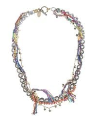 Venna | Blue Necklace | Lyst