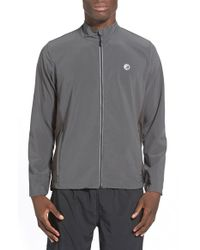 Athletic Recon | Gray 'finisher' Water Repellent Zip Jacket for Men | Lyst