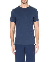 Orlebar Brown | Blue Sammy Ii Cotton-jersey T-shirt for Men | Lyst