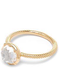 Larkspur & Hawk - Metallic Gold Bella Stacking Ring - Lyst