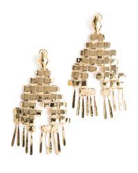 Aurelie Bidermann - Metallic 'marella' Dangling Earrings - Lyst