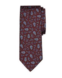 Brooks Brothers | Red Paisley Tie for Men | Lyst