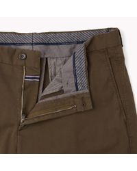 Tommy Hilfiger | Natural Stretch Cotton Trousers for Men | Lyst