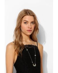 Urban Outfitters - Metallic Moonbeams Necklace - Lyst