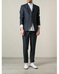 Mr Start - Blue Two Button Blazer for Men - Lyst