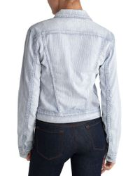 J Brand | Blue 403 Slim Fitted Jacket | Lyst