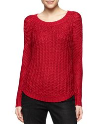 Calvin Klein Jeans | Textured Pullover Sweater | Lyst