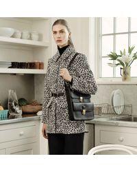Trademark | Black Leopard Safari Jacket | Lyst