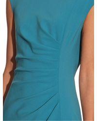 Max Mara - Blue Faust Wool-Blend Dress - Lyst
