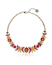Antica Murrina | Red Elite 1 Murano Glass Necklace | Lyst